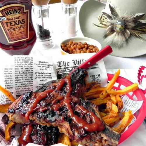 Grilled BBQ Country Pork Ribs – Texas bold and spicy