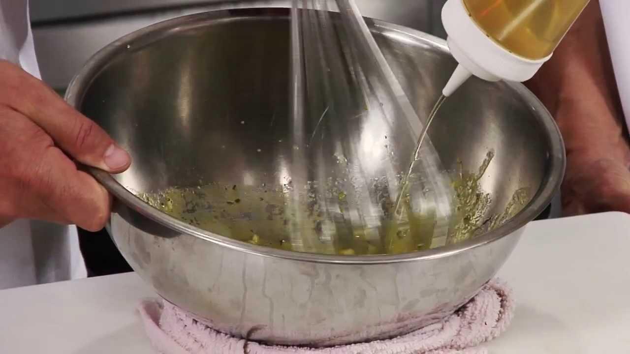 Recipe Video: Lemon Vinaigrette