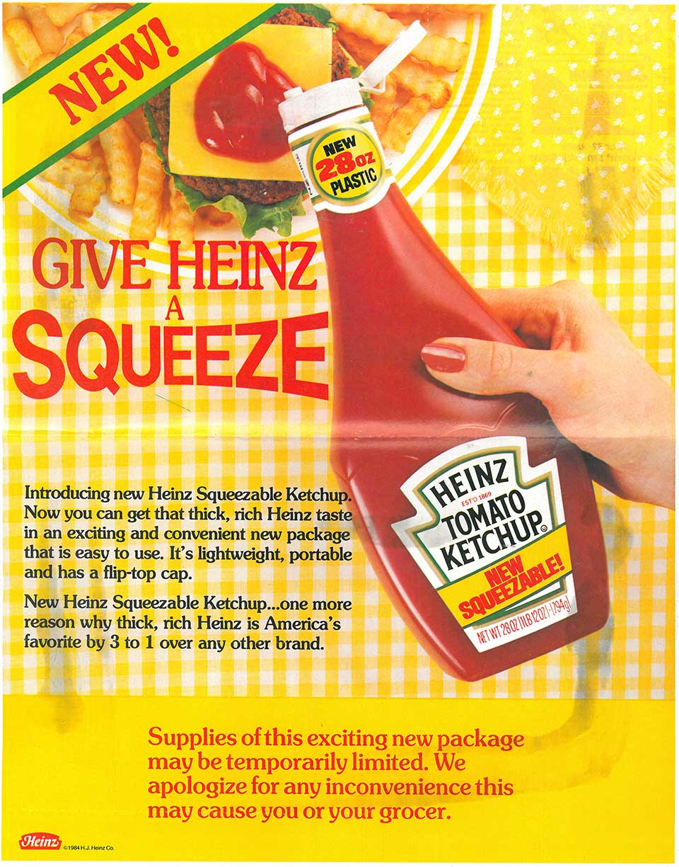 Image result for heinz thick rich one ad