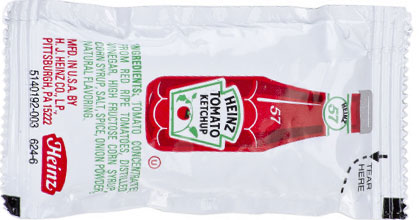KETCHUP TO GO.