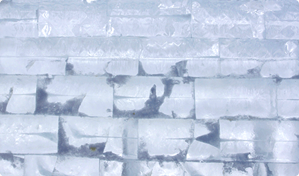 This must be your favorite kind of wall - chilled.