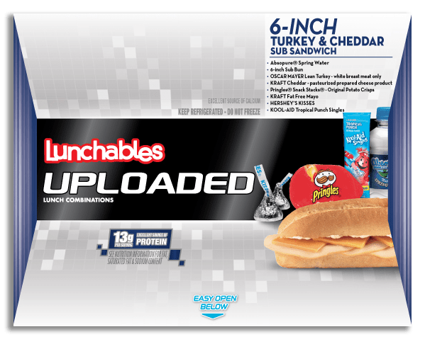 Lunchables Uploaded con Bebida