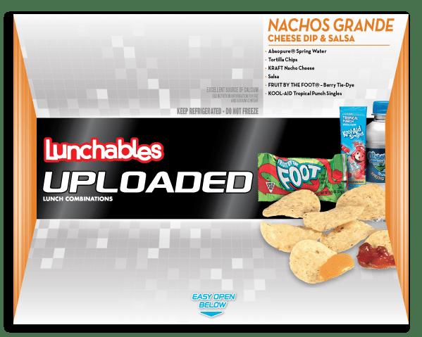 Nachos GrandeCheese Dip + Salsa