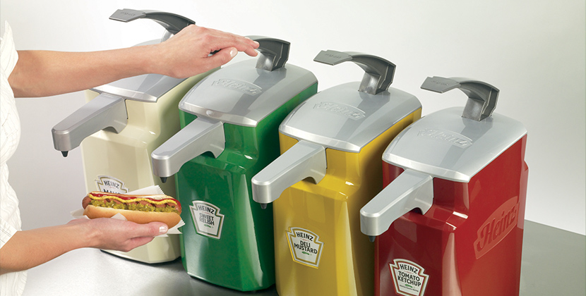 Heinz Keystone™ Dispensers to Enhance your Dining Hall