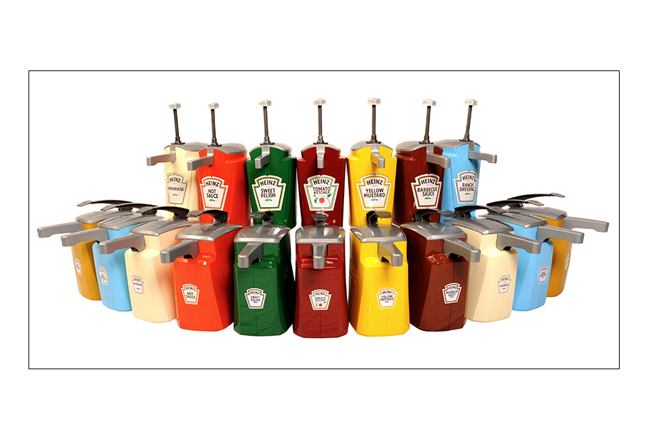 Upgrade Your Cafeteria with Heinz Keystone™ Dispensers