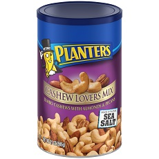 PLANTERS Cashew Lovers Mix 21 oz Can image